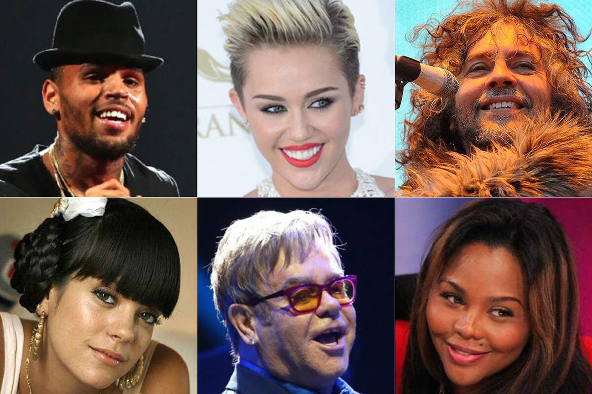 Beefs, brawls, fights, feuds -- call them what you will. These things happen. See some of the most infamous here, varying from rap artists and pop queens to country crooners and rock stars. By Christy Khoshaba