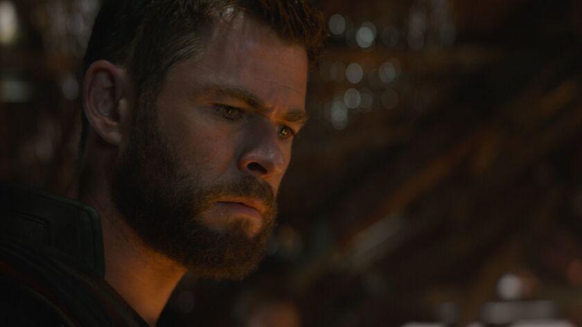 Thor (Chris Hemsworth) in Marvel Studios' AVENGERS: ENDGAME Photo: Film Frame ?Marvel Studios 2019