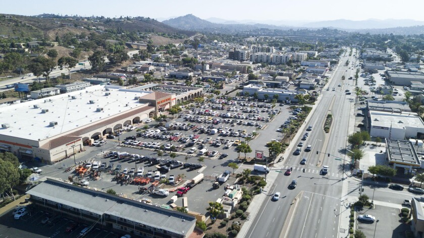 The City of Lemon Grove is considering disincorporation because it can't afford to run their city. The Home Depot, left, is one of the largest source of tax revenues for the city.