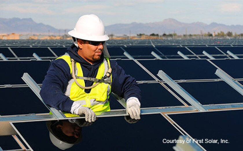 Antelope Valley Solar Ranch One project