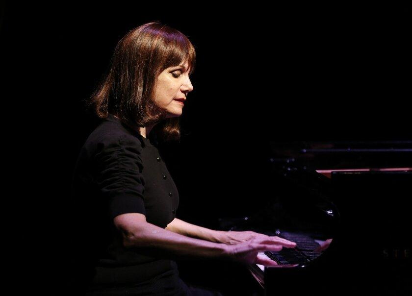 """Mona Golabek in """"The Pianist of Willesden Lane."""""""