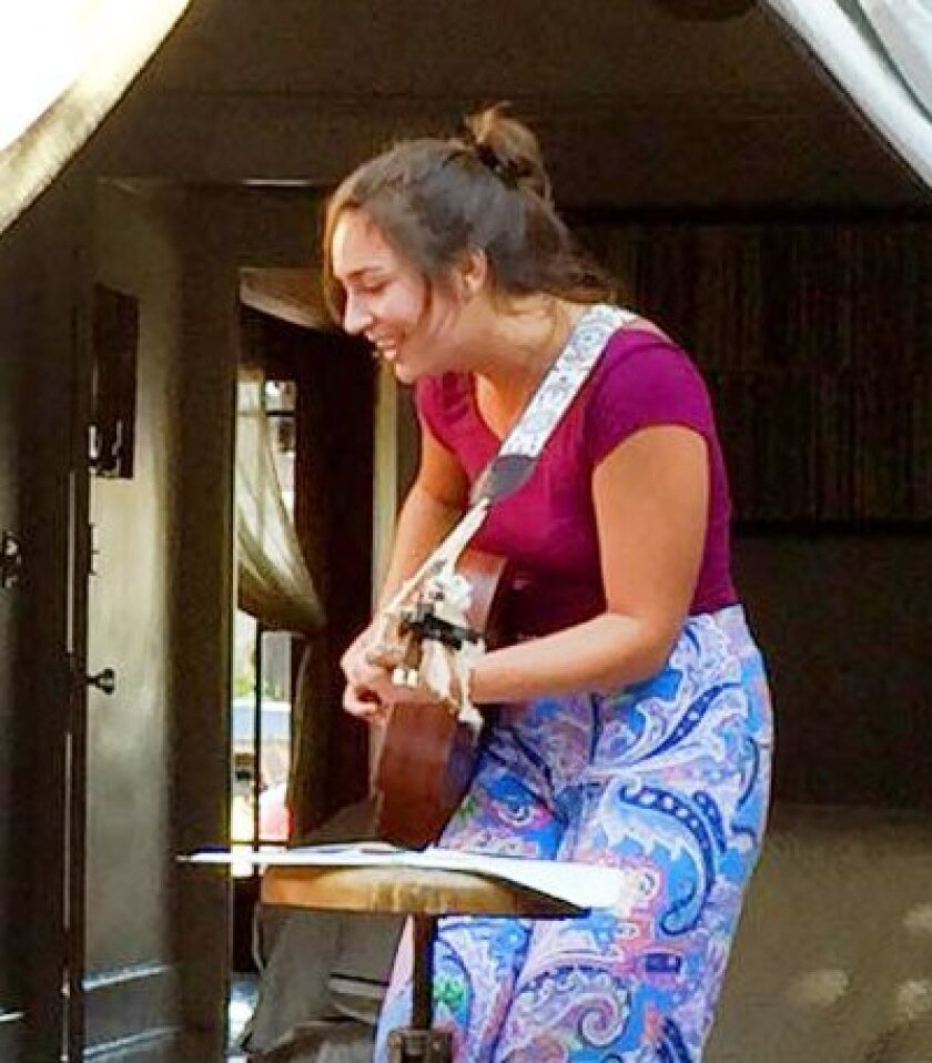 Eliza Rose Vera will perform at 1162 Prospect St. during the first La Jolla Nights event, 5-8 p.m. Friday, Aug. 7.