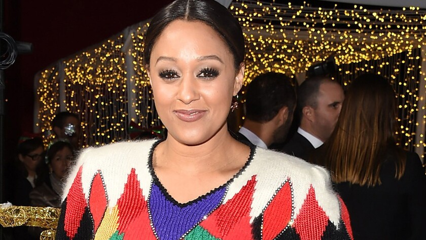 Tia Mowry isn't ashamed of her size. She also isn't pregnant.