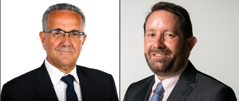 The candidates for San Diego City Council District One are Joe LaCava and Will Moore.