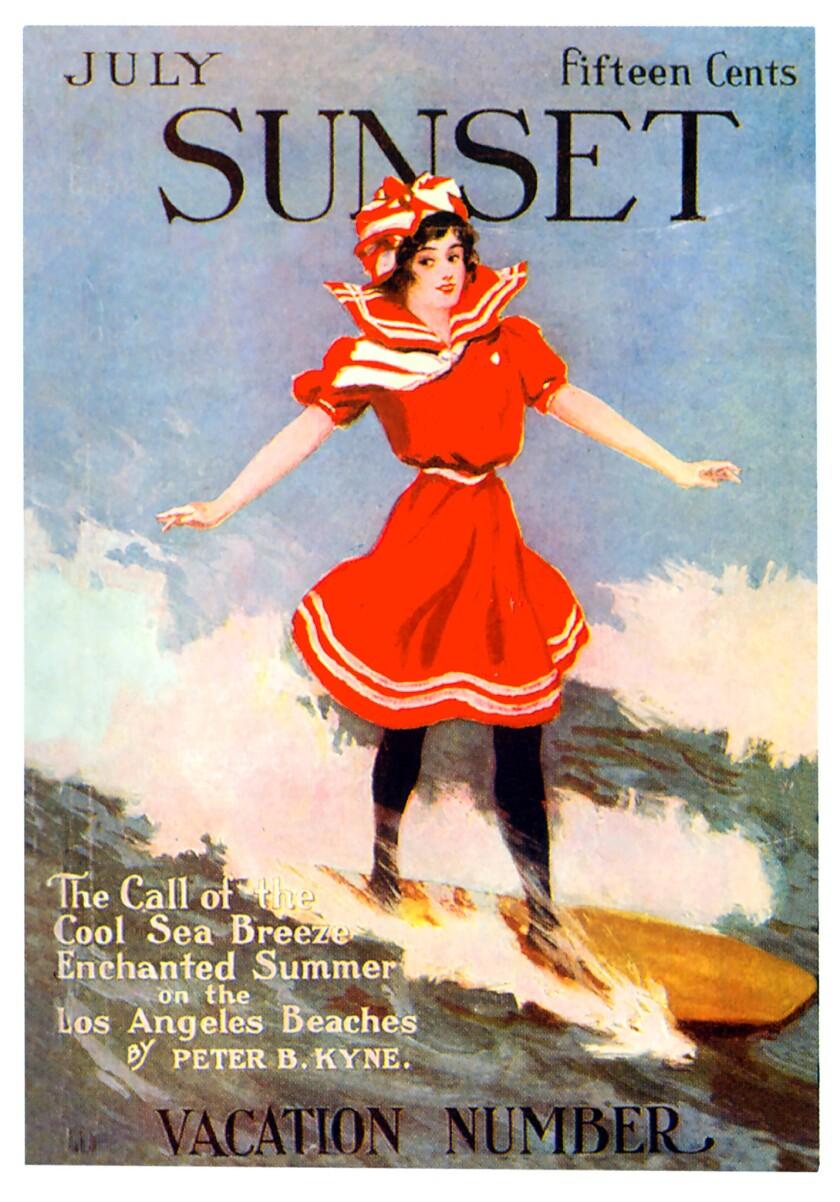 Sunset Magazine cover 1911