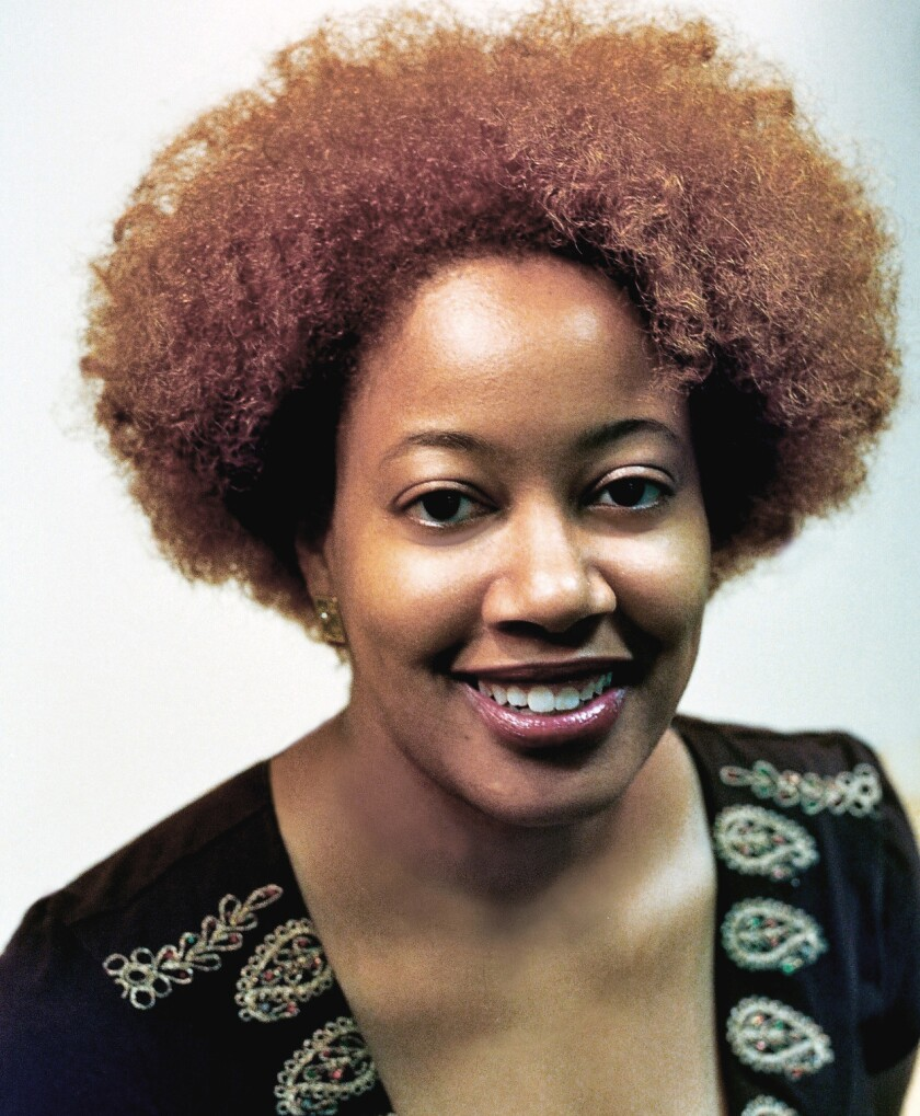 Fantasy author Nora Jemisin.