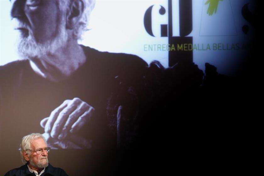Glass recibe la Medalla Bellas Artes por su contribución a la plástica en México