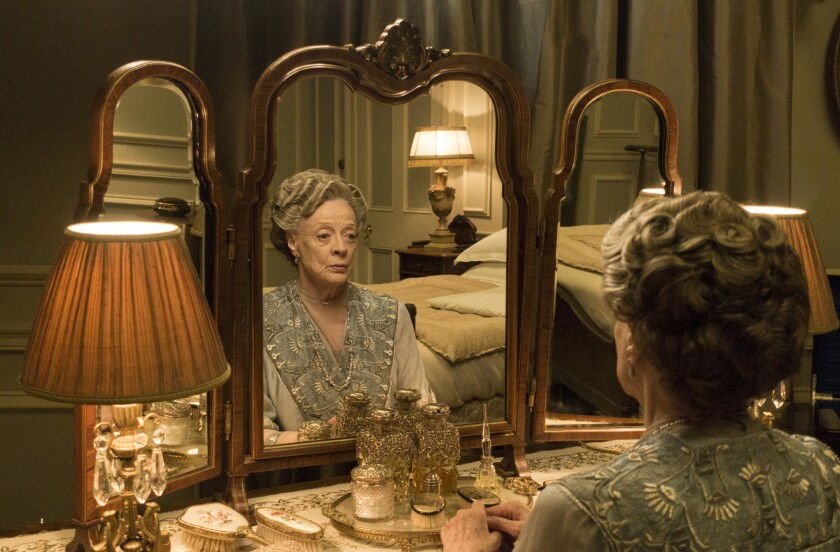 "Maggie Smith as Violet, Dowager Countess of Grantham, on PBS' ""Downton Abbey."""