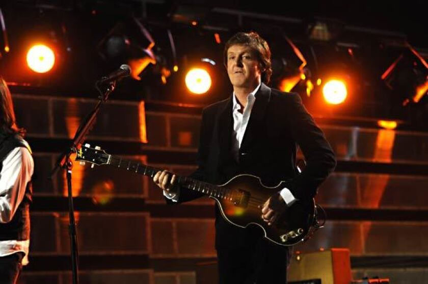 The Beverly Hills Hotel & Bungalow can secure tickets to the Grammys, where Paul McCartney played last year.