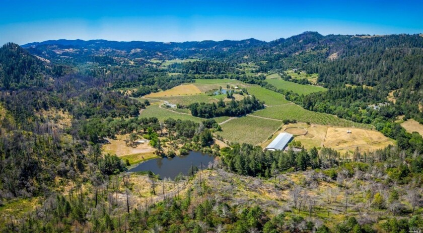Joe Montana's Calistoga ranch