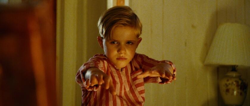 """Jakob Salvati as Pepper Flynt Busbee in """"Little Boy."""""""
