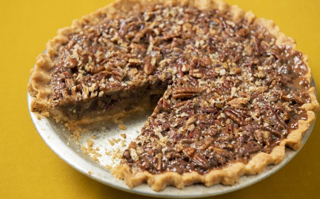Bourbon Pecan Pie With No-Roll Crust