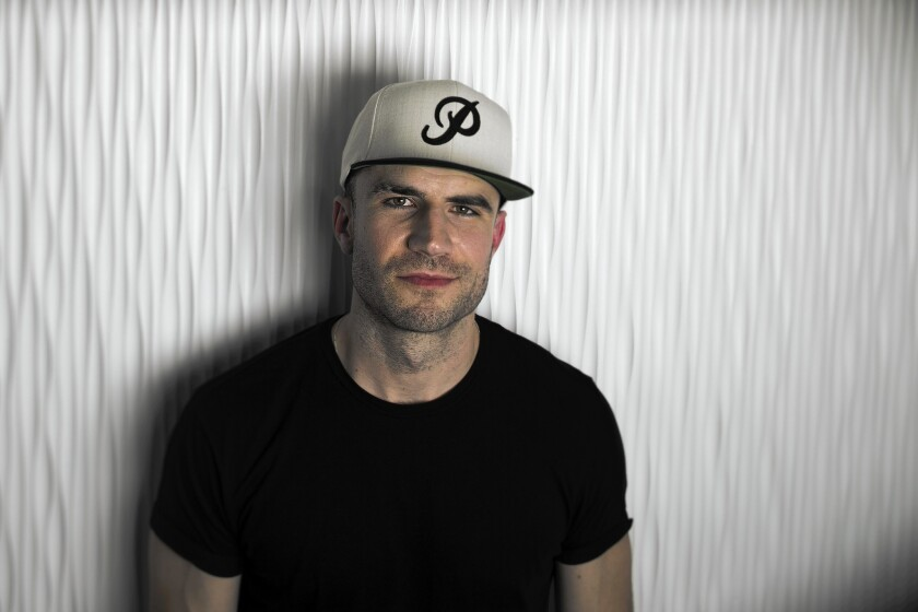 """Sam Hunt, whose debut album, """"Montevallo,"""" is a hit, will be at the Troubadour on Thursday in a sold-out show."""