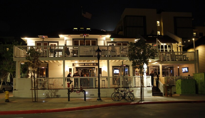 March 5, 2015. San Diego, CA. The Half Door Brewing Co, a new Irish Pub, opened in a remodeled