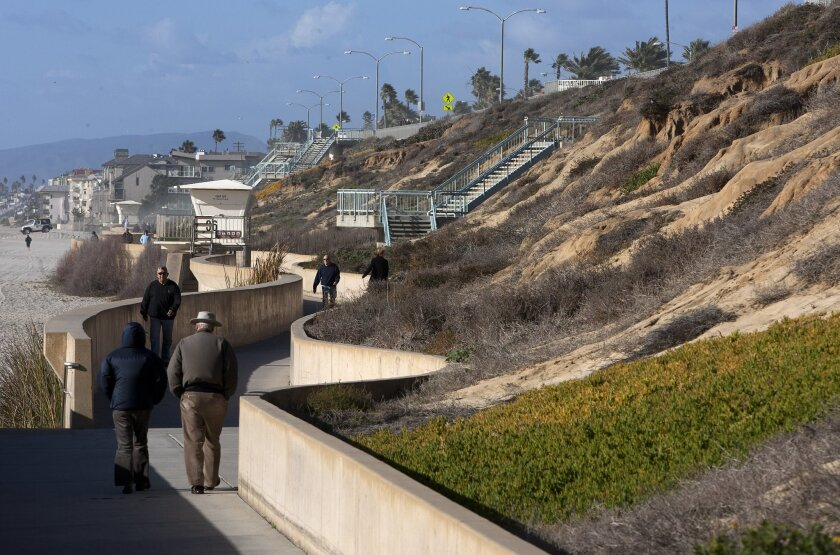 Ramps and a tunnel have been proposed to improve access to Tamarack Beach and link it with the nearby Agua Hedionda Lagoon.