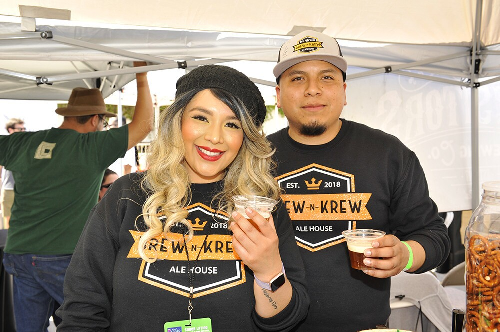 Hungry guests celebrated Latino flavors and culture at the Fourth annual Sabor Latino – Food, Beer and Wine Festival at Fashion Valley on Saturday, March 16, 2019.
