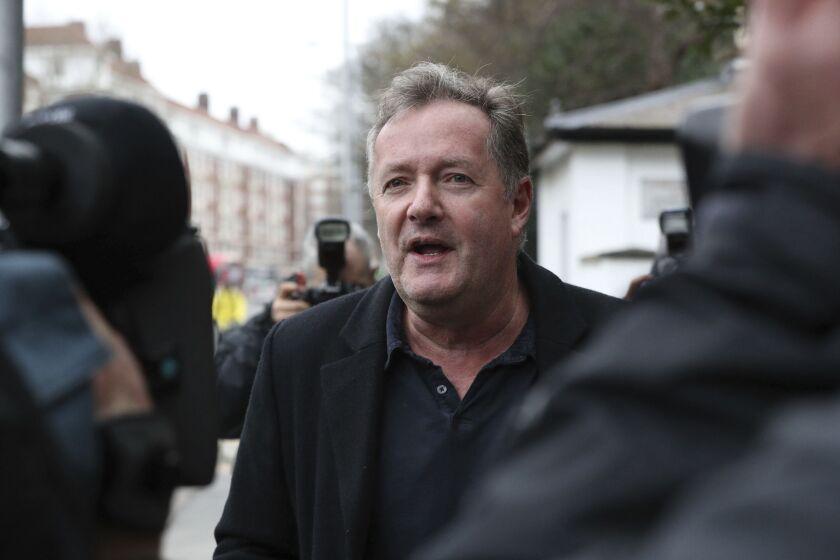British television host Piers Morgan.