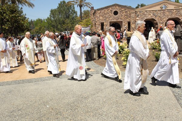 Bishop Robert W. McElroy was installed as the Sixth Bishop of San Diego at St. Therese of Carmel Church