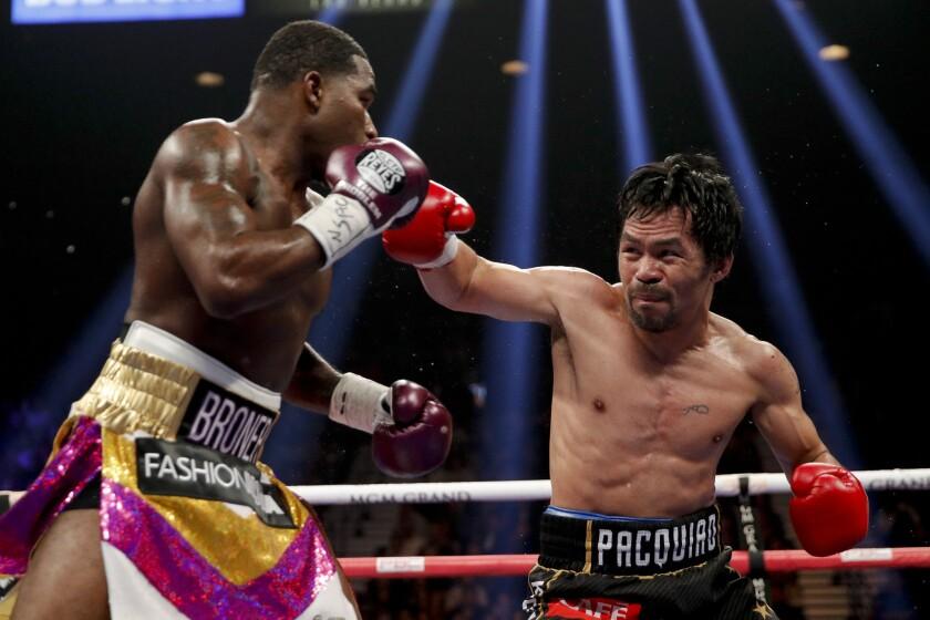 APphoto_Pacquiao Broner Boxing