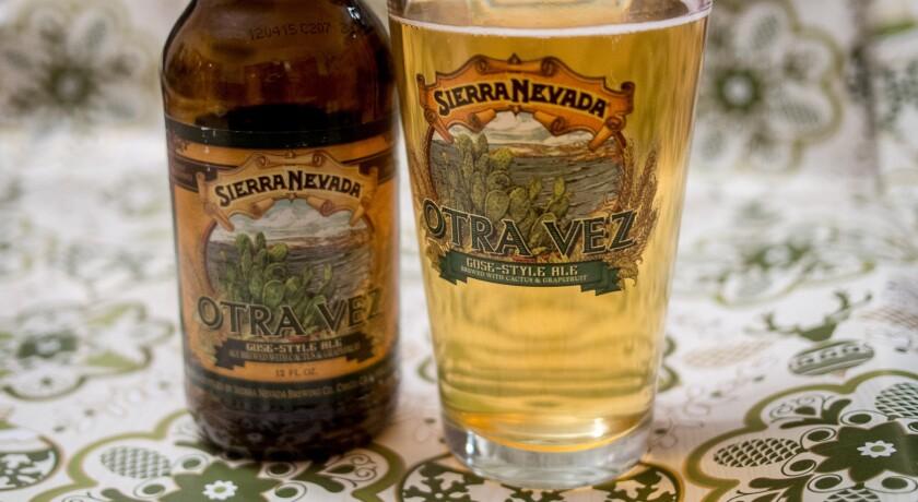Sierra Nevada Brewing's new Otra Vez gose-style beer.