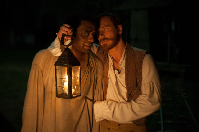 "The film ""12 Years a Slave"" depicted the brutality of slavery in America, while a Texas textbook whitewashes it, calling slaves ""workers"" and ""immigrants."""