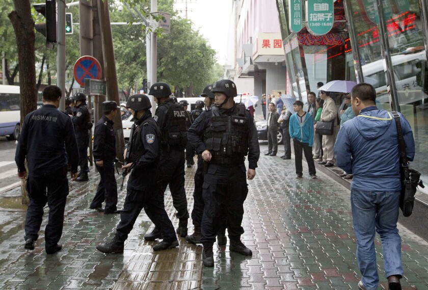 Unrest in Urumqi, China