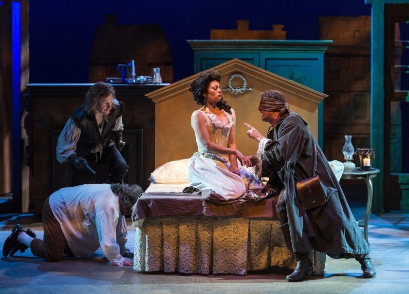 Review: Restoration comedy 'The Beaux' Strategem' defies categories