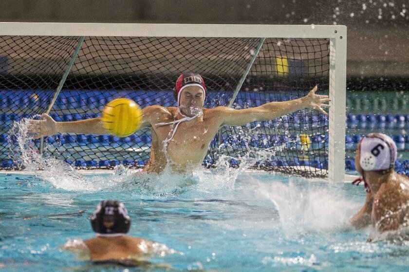 Huntington Beach High goalie Patrick Saunders and the Oilers reached the CIF Southern Section Division 1 semifinals, where they lost to Harvard-Westlake.