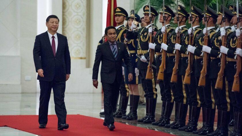 CHINA-MALDIVES-DIPLOMACY