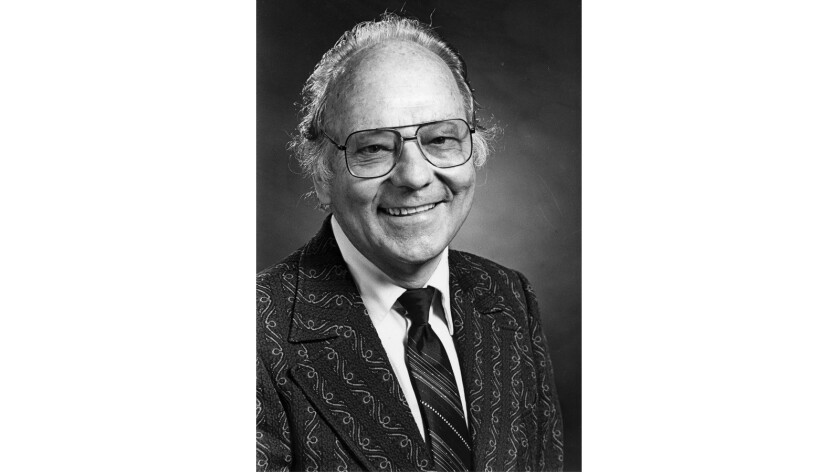 Gerald A. Larue was a longtime professor of religion and gerontology at the USC Davis School of Gerontology.