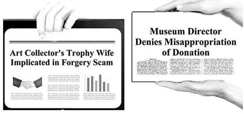 Headlines from Patricia Frischer's Murder Mystery Series