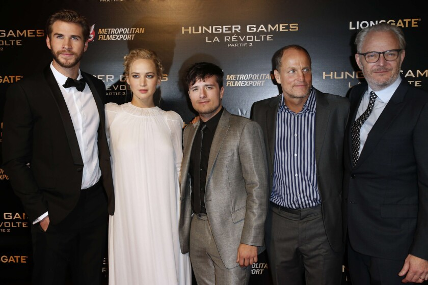 'Hunger Games: Mockingjay - Part 2' premiere in France