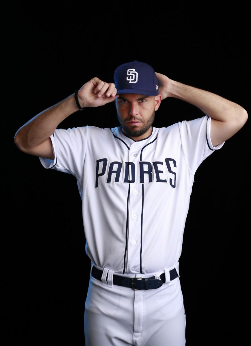 San Diego Padres first baseman Eric Hosmer.