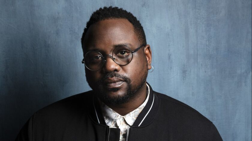 """TORONTO, ONT. -- SEPTEMBER 08, 2018-- Actor Brian Tyree Henry, from the film """"Widows,"""" photographed"""