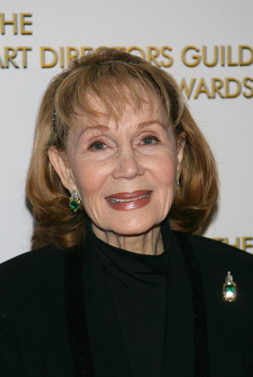 Actress Katherine Helmond arrives at the 11th Annual Art Directors Guild Awards at the Beverly Hilton Hotel on February 17, 2007 in Beverly Hills, California.