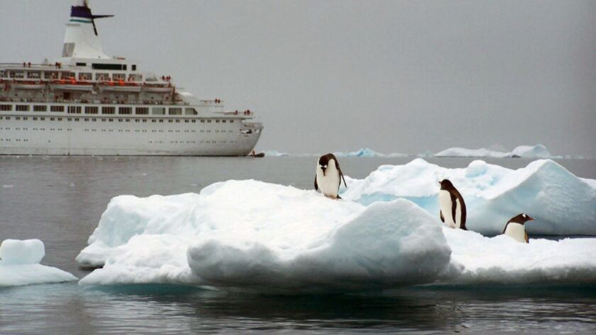 In 25 years, Antarctica lost enough ice to raise sea level by nearly 8 millimeters, research shows