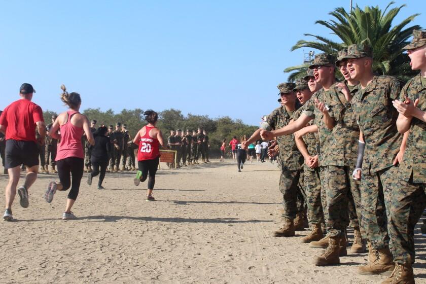 Marine Corps Bootcamp Challenge.