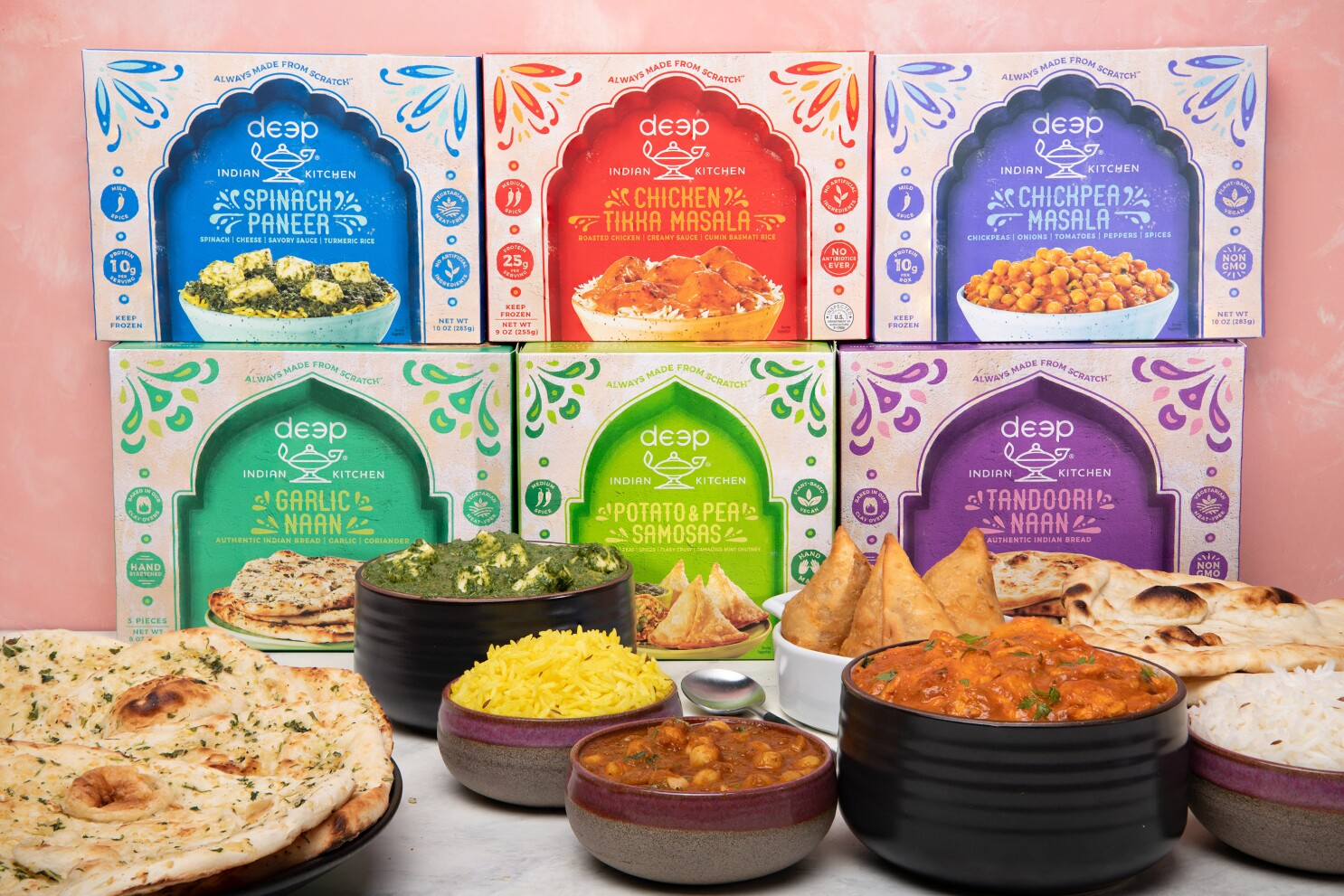 Deep Indian Kitchen Brings Family Flavor To Home Freezers The