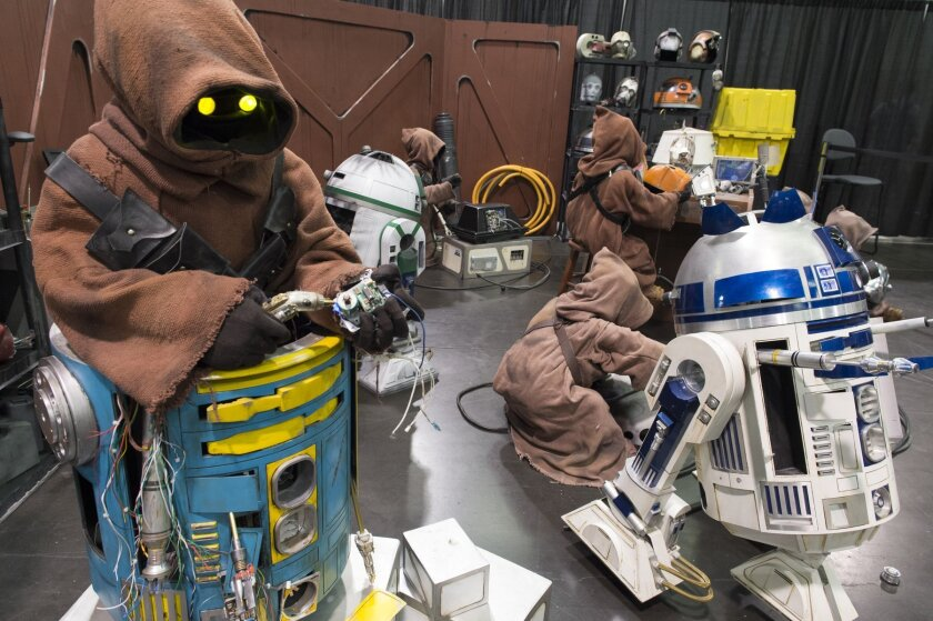 The droid workshop