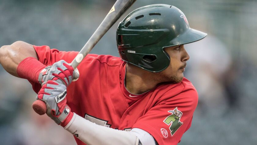 Padres shortstop prospect Fernando Tatis Jr. was the fifth-youngest player in the Midwest League whe