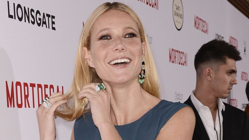 Gwyneth Paltrow has the cure for what ails you, ladies.
