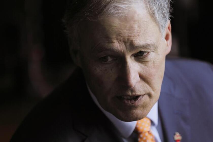 Fotografía del gobernador del estado de Washington (EE.UU.), Jay Inslee. EFE/Archivo