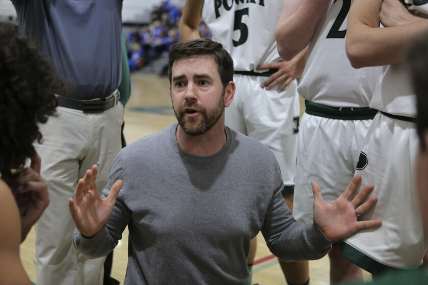 Poway basketball coach Scott Fisher has his team off to a fast start this season.