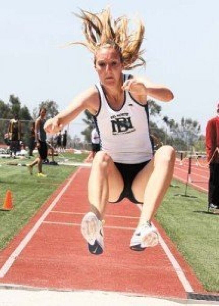 Senior Caitlin Cole will graduate from Del Norte High with 12 varsity letters. Photo by Sherri Cortez