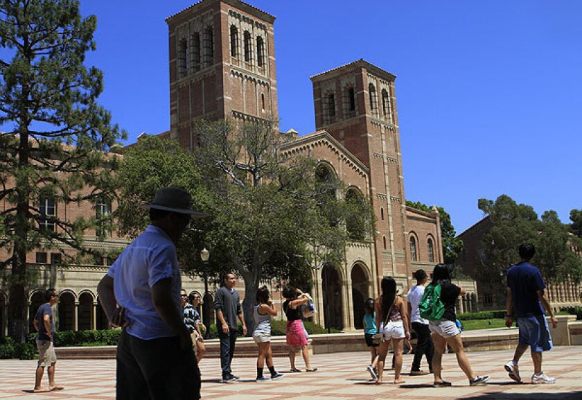 A lot has changed at UCLA in the last seven decades.