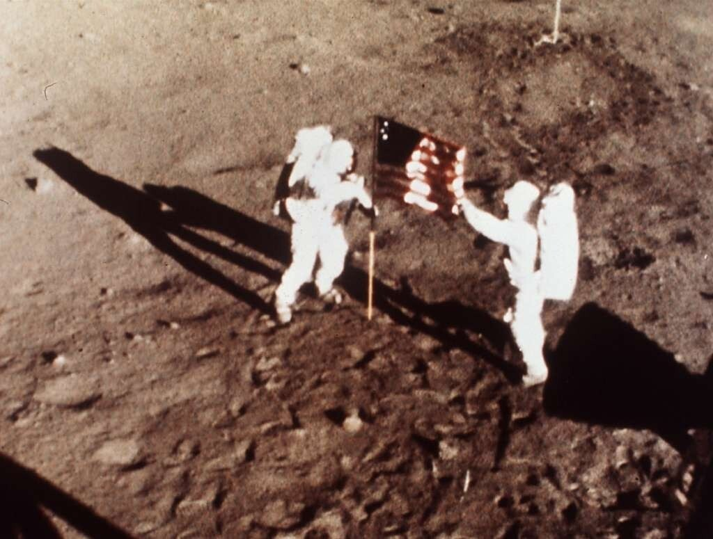 The Whiteboard Jungle: It happened 50 years ago, but the moon landing still tells us about ourselves