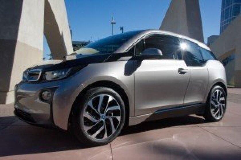 Test-driving a BMW i3
