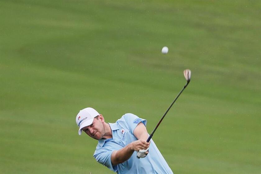 En la imagen, el golfista sueco Alex Noren. EFE/Archivo