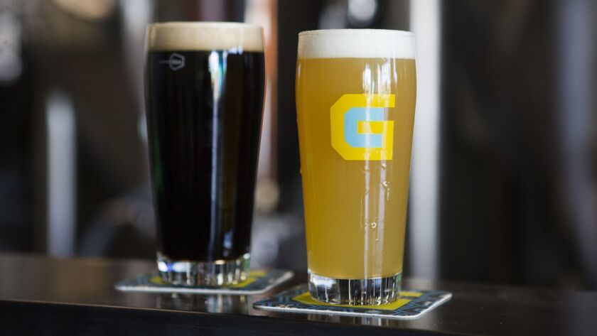 Gamecraft Brewing Co. in Laguna Hills offers a large variety of beer including lagers, IPAs and stou