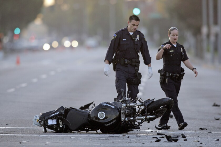 Motorcycle fatalities drop 7% study says